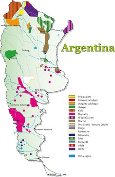 Argentina Rainfall Map Click On The Map To See It Bigger Maps - Argentina rainfall map