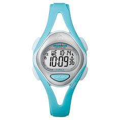 Women's Timex Ironman Sleek 50 Lap Digital Watch - Blue T5K701JT, Mint Green