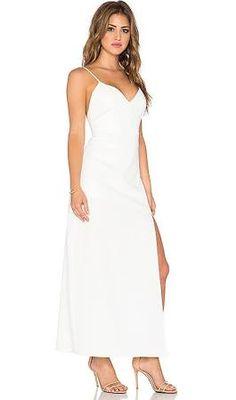 white maxi dress spaghetti straps - Google Search