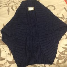 Kenji sweater. Navy blue, size small. Excellent condition. Kenji Sweaters