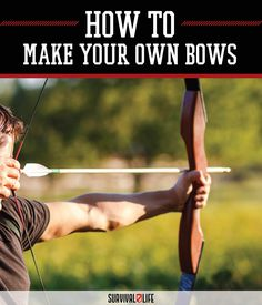 Bow Making Course | How to Make Your Own Bows by Survival Life at http://survivallife.com/2015/06/02/bow-making-how-to/