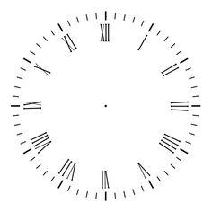 Printable Clock Face | Clock Face 2 by AGF81 on deviantART