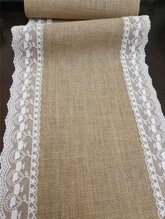 Wedding Table Garland, Wedding Table Linens, Wedding Tables, Lace Table Runners, Burlap Table Runners, Coffee Table Runner, Burlap Tablecloth, Lace Runner, Burlap Crafts