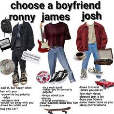 choose a boyfriend niche memes Grunge Outfits, Retro Outfits, Outfits For Teens, Boy Outfits, Vintage Outfits, Fashion Outfits, Fashion Styles, Summer Outfits, 90s Fashion