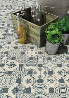 VIVES Azulejos y Gres - Floor tiles gres ceramic heritage effect tiles World parks Beaumont Tiles, Parks, Tub Tile, Tile Floor, Mosaic Tiles, White Subway Tiles, Vintage Tile, Kitchen Wall Tiles, Retro Pattern