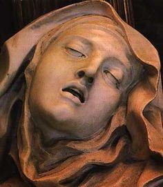 Bernini El éxtasis de Santa Teresa.