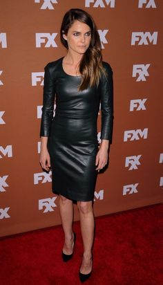 Keri Russell 2013 FX Upfront Presentation New York City - if it's not faux, it could be...