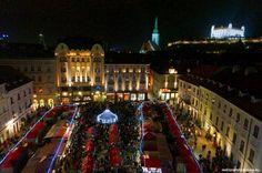 BRATISLAVA BY NIGHT FREE TOUR - WelcomeToBratislava | WelcomeToBratislava: Christmas markets