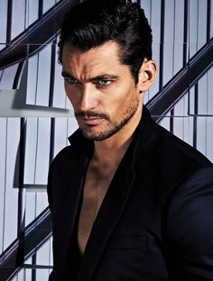 Slightly dishevelled serious face. | 32 Examples Of David Gandy's Best Serious Face