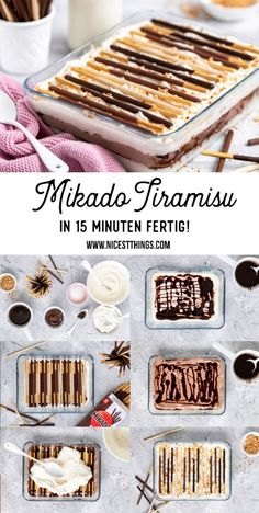 Desserts Nutella, Chocolate Desserts, Cheesecake Recipes, Dessert Recipes, Tiramisu Dessert, Dessert For Two, Quick Easy Desserts, Quick Dessert, Thermomix Desserts