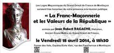 Montluçon : La Franc Maçonnerie et les valeurs de la République