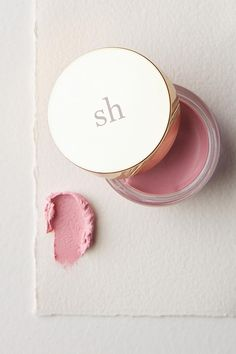 Anthropologie |  Sara Happ Sweet Clay Lip Mask |  Rosehip oil | Shea butter |  Olive Oil |  Grape Seed Oil | Softens | Soothing  Pink | Beauty | ad