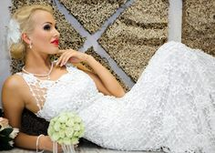SALE Half price was USD999. Exclusive crochet by LaimInga on Etsy, $499.00