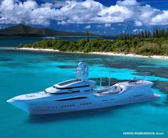 Arctic Sun is a Magnificent 'Green' 90-Meter Superyacht Concept