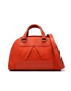Bowling Bag. Orange. Zara. $79.90