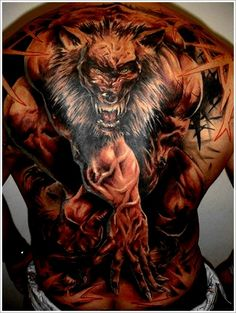 Indian Back Tattos for Women | 35 Meaningful Wolf Tattoo Designs