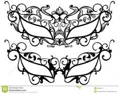 Masquerade Masks Vector Royalty Free Stock Photos - Image: 32828118