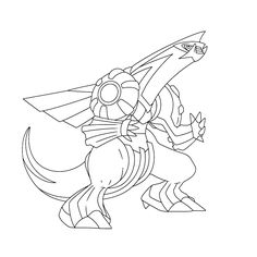 Pokemon Coloring Pages for kids. Pokemon rayquaza
