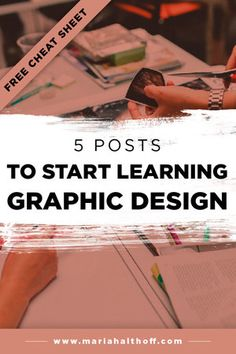 5 Posts to Start Learning Graphic Design