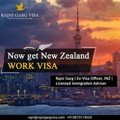Rajni Garg Visa Services experts in transforming your New Zealand dreams into reality! We help you with each step of the process through our expert guidance regarding your skilled visa work visa and Pr visa in New Zealand. Get in touch with our experts at Rajni Garg Visa +919873113624 New Zealand Work Visa, Work In New Zealand, Career Opportunities, Ielts, Study Abroad, Auckland, Paths, Touch, Dreams