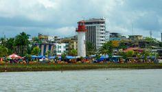 Colombia - Muelle de, oficialmente, Distrito Especial, Industrial, Portuario, Biodiverso y Ecoturístico de Buenaventura, Valle del Cauca.