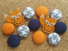 Check out this item in my Etsy shop https://www.etsy.com/listing/460300402/thumbtack-set-12-pc-push-pin-set