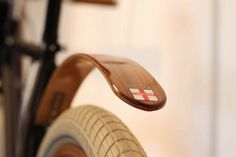 wooden bike frame
