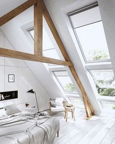 3 Appealing Tips: Natural Home Decor Bedroom Design Seeds natural home decor rustic house.Natural Home Decor Earth Tones Rugs natural home decor bedroom living rooms.Natural Home Decor Living Room. Attic Bedroom Decor, Attic Bedroom Designs, Attic Bedrooms, Attic Design, Bedroom Loft, Bedroom Ideas, Bedroom Inspiration, Cozy Bedroom, Loft Design