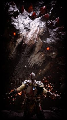 Dope Wallpapers, Gaming Wallpapers, Kratos God Of War, Video Game Art, Game Character, Thor, Fantasy Art, Concept Art, Anime