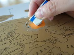 Scratch Off Map - Best World Map Poster - Share Your Travel Stories