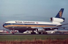 British Caledonian Flight Leaving Gatwick Airport West Sussex England in 1982 Best Airlines, Cargo Airlines, Gatwick Airport, Airport Photos, Aviation, The Past, Aircraft, British, England
