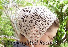 'Sara' Cap-Rachels' Seamstress Services Sara Cap Crochet, Romantic, Modest
