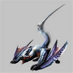Lucent Nargacuga are Flying Wyverns introduced in Monster Hunter 3 Ultimate. Monster Hunter Art, Monster Hunter 3 Ultimate, Monster Hunter Series, Creature Concept Art, Creature Design, Fantasy Beasts, Fantasy Art, Cry Anime, Anime Art