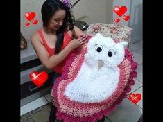 20 ideas for crochet facile hibou Crochet Owls, Crochet Quilt, Filet Crochet, Crochet Crafts, Crochet Baby, Knit Crochet, Crochet Skirt Pattern, Crochet Flower Tutorial, Afghan Crochet Patterns
