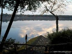 Camp reflections by seeAroostook on Etsy