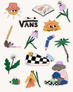 Helena Covell (@helcovell) / 트위터 Mini Drawings, Art Drawings, Tatto Mini, Cute Illustration, Graphic Design Inspiration, Cute Stickers, Sticker Design, Collage Art, Cute Art