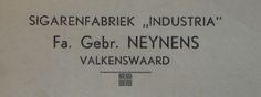 Bakkerstraat 57 Briefhoofd Gebr Neynens