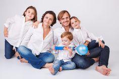 sesion fotos de familia en estudio