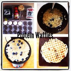 Eat Clean Monday: Protein Waffles