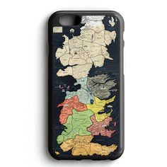 Westeros Map iPhone 7 Case