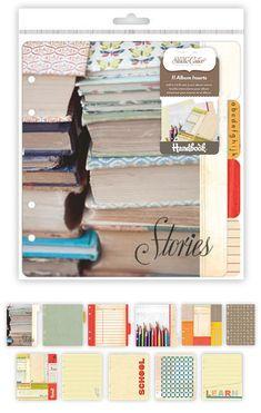 New Studio Calico: Yearbook handbook Album inserts. My Scrapbook, Scrapbook Supplies, Scrapbook Photos, Book Journal, Journal Cards, Journals, Call Art, Studio Calico, Planner Organization