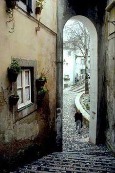 Old Town Lisboa, Portugal