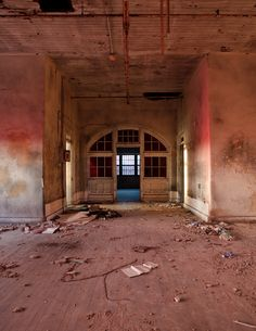 Abandoned. South Carolina State Hospital.