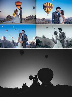 Cappadocia Wedding Photographer - Air Balloons