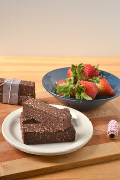 Vegan energy bar #healthy #dessert #recipe #raw #vegan #chocolate #bar