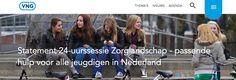 Bij de tekst 'passende hulp voor ALLE jeugdigen in Nederland, wordt een foto geplaatst van zes vrijwel identieke tienermeiden. Waar zijn de jongens?