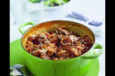 Řecké jehněčí s rýží Feta, Chili, Soup, Chile, Soups, Chilis