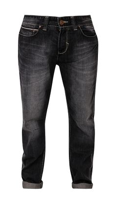 Slim Fit Denim by Lois Jeans. Black jeans with fading shade details, button and zipper closure, belt lops stitching accent, regular fit, front and back pocket, pair this jeans with plain t-shirt for casual style.   http://www.zocko.com/z/JGYwz