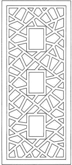 Geometric Rectangle Design: