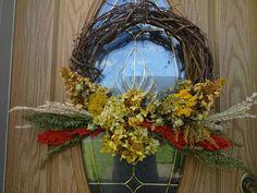 Items similar to Autumn Wreath Dried Wreath Grapevine Wreath Wreath For Fall Fall Wreath Hydrangea Wreath Front Door Wreath Thanksgiving Wreath Gift on Etsy Easy Fall Wreaths, Diy Fall Wreath, Thanksgiving Wreaths, Holiday Wreaths, Holiday Decorations, Hydrangea Wreath, Grapevine Wreath, Floral Wreath, Dried Sunflowers